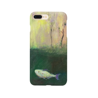 ムラナギ/森の魚 スマートフォンケース