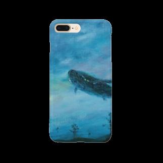 月ノ子の森に恋してのムラナギ/ジキムの見える夜 Smartphone cases