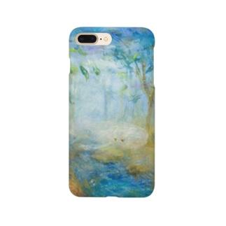 ムラナギ/森と海のアシュリ Smartphone cases