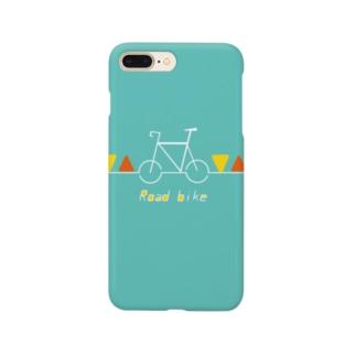 自転車柄アイテム ロードバイク Smartphone Case