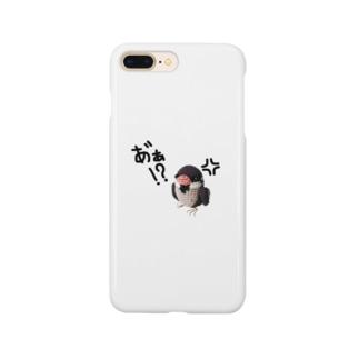 キレてるスズメ Smartphone cases