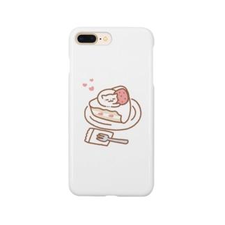 ショートケーキおキャット Smartphone Case