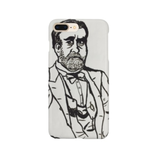 しかめっ面おぃちゃん Smartphone cases