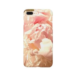 大輪の芍薬-carpe diem Smartphone cases