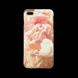 memento-moriの大輪の芍薬-carpe diem Smartphone cases