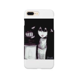 森の獣耳魔女 Smartphone cases