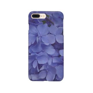 indifferent「冷淡」紫陽花 アジサイ Smartphone cases