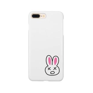 まちがいうさぎ Smartphone cases