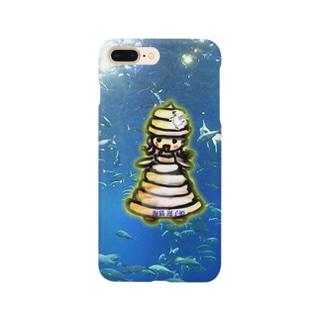 海猫 運子姫  Smartphone cases