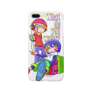 何か用? Smartphone cases