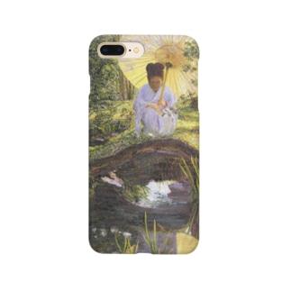リラ・キャボット・ペリー 《日本庭園で》 Smartphone Case