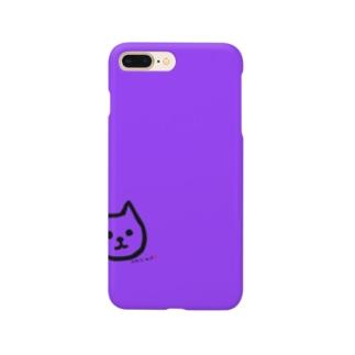 おもしろわいずマスコット犬紫マスク Smartphone Case