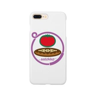 パ紋No.3023 satokko  Smartphone cases