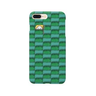 卵焼きとおむすびと草みたいなやつ Smartphone cases