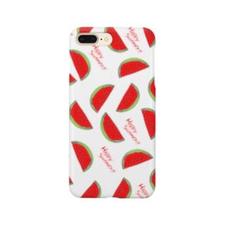 すいか! Smartphone cases