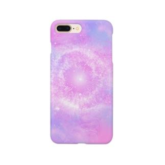 宇宙な柄 Smartphone cases