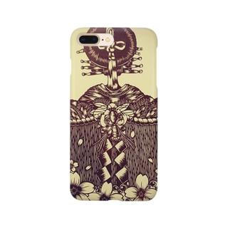 切り絵*揚巻 Smartphone cases