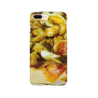 カレーピザ スマートフォンケース