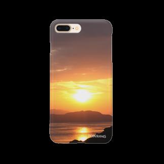 TONA1045の夕焼け Smartphone cases