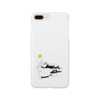 シャンプーin美容室 Smartphone cases