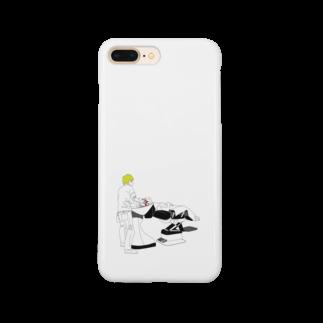 及川堂制作のシャンプーin美容室 Smartphone cases
