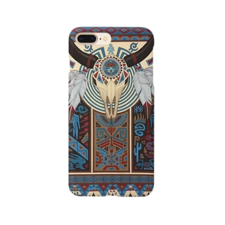 バイソン/アメリカインディアン Smartphone cases