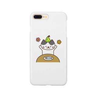 Happy Cat スマートフォンケース