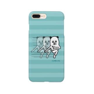 パンダおっさん(シマシマ) Smartphone cases