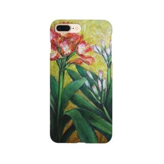 蕾と開花 Smartphone cases