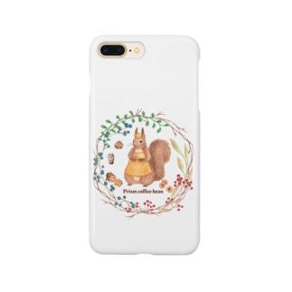 森の木の実のボタニカルカフェ Smartphone cases