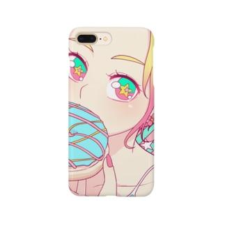 カラフルドーナツ スマホケース Smartphone Case