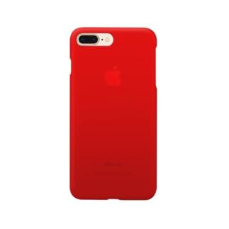 まるでiPhoneレッド Smartphone cases
