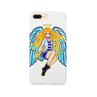天使アバター スマートフォンケース
