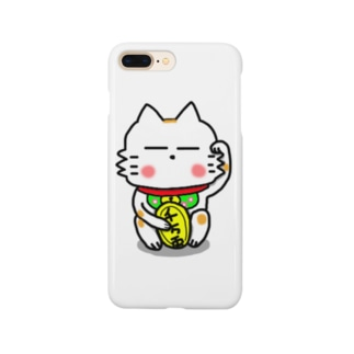 BK あーきちゃん招き猫バージョン スマートフォンケース