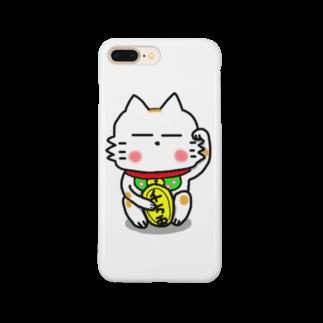 ビケ@BKF48 補欠のBK あーきちゃん招き猫バージョンスマートフォンケース