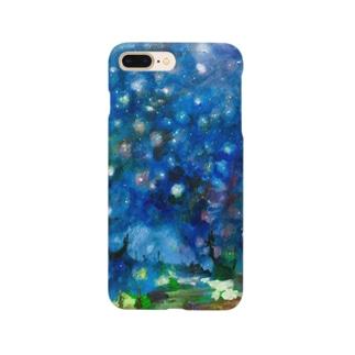 ムラナギ/ロッカと十一月二十三日の星空 Smartphone cases