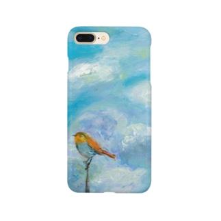 ムラナギ/七月のロビン Smartphone cases