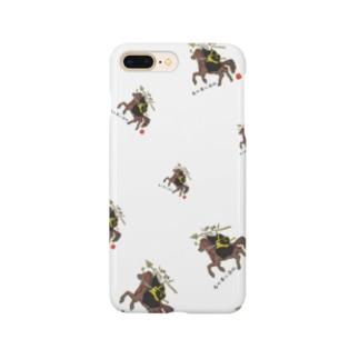 馬の耳に念仏ッ!! Smartphone cases