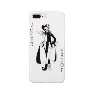 トランプのジョーカーがかっこいいグッズ Smartphone cases