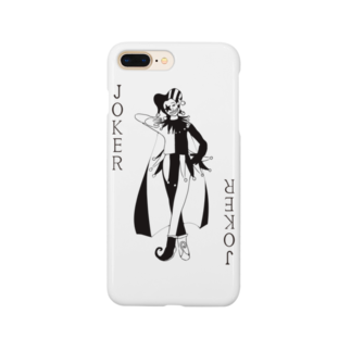 chicodeza by suzuriのトランプのジョーカーがかっこいいグッズ Smartphone cases