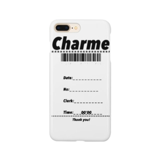 CHARME receipt Smartphone cases