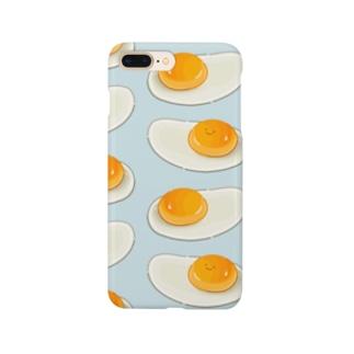 にくらしい生卵 Smartphone cases