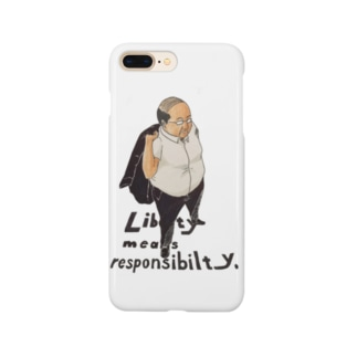 Liberty means responsibility. Smartphone cases