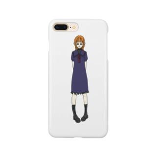 かえで(セーラー服) Smartphone cases