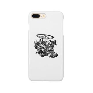 ガラクタ飛行船 Smartphone cases