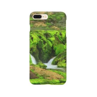 苔の間 Smartphone cases