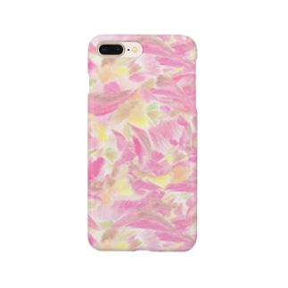 さくらピンク Smartphone cases