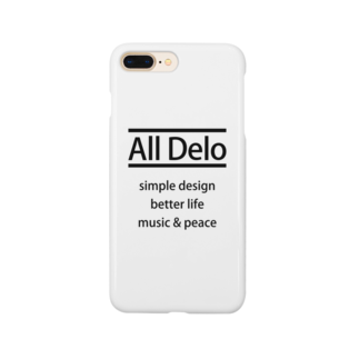 USS Official MerchのAll Delo - better life スマートフォンケース