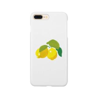 ごろごろレモン スマートフォンケース