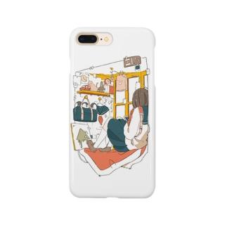オレンジモウフ Smartphone cases
